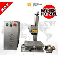 Buy cheap Red Light Pointer 20W Portable Laser Marking Machine For SS Black Color Marking from Wholesalers