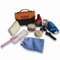 Buy cheap Car Cleaning Kit with 12V Vacuum and 180g Gloss Paste Solid Wax from wholesalers