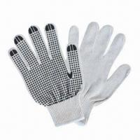 Buy cheap PVC Dots Safety Gloves with T/C Yarn from wholesalers