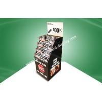 Buy cheap Strong Seat Gap Filler Black Corrugated Cardboard Bins For Retail Store With Gloss Finish from wholesalers
