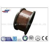 Buy cheap Corrosion Resistance Copper Coated Steel Wire 1.0mm Dia For Hose Reinforcement from wholesalers