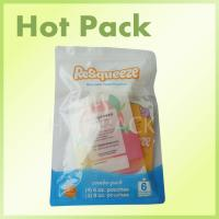 Buy cheap Eco Friendly Squeezy Snack Mini Sachet 3 Side Seal Aluminium Foil Packaging from wholesalers