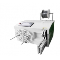 Buy cheap Automatic cable winding and binding machine LCD touch screen for 40-80mm binding diameter from wholesalers