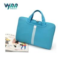 Buy cheap Pockets Carrying Laptop Travel Bag , Blue Waterproof Laptop Case With Handle from wholesalers