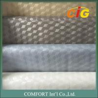 Buy cheap Embossing Design Upholstery Use PVC Artificial Leather Vinyl Material product