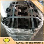 Buy cheap Good Quality 35SiMn Heat Treatment Crawler Crane Track Shoe for Hitachi KH500-2 from wholesalers