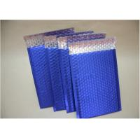 Buy cheap Blue Metallic Decorative Bubble Mailing Envelopes For Courier Company Using from wholesalers