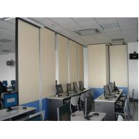 Buy cheap Aluminium Track Roller Melamine Surface Portable Room Divider Sliding Folding Partition Walls from wholesalers