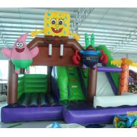 Buy cheap 2016 hot sell  Spongebob inflatable bounce house with 24months warranty GT-BC-1840 from wholesalers