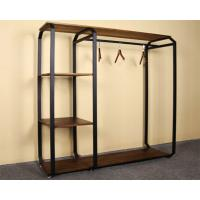 Buy cheap Customized Design Garment Storage Rack / Industrial Clothing Rack Easy Assemble from wholesalers