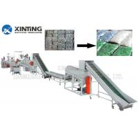Buy cheap Waste PET Bottle Recycling Machine Bottle Flakes Cleaning Line Automotive from wholesalers