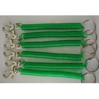 Buy cheap Transulcent Green Badge Accessory Stretchable Clip-on Key Coil Chains ID Key Coil Chains from wholesalers