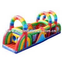 Buy cheap Home Use Inflatable Obstacle Course For Children Amusement from wholesalers