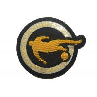 Buy cheap Sport Embroidered Football Badges Print Embroidered Iron On Patches from wholesalers