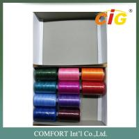 Buy cheap 100% Spun Polyester Sewing Thread 40s/2  in 400 yds - 1000yds Per Tube for Amazon product
