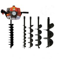 Buy cheap Gasoline Powered Post Hole Digger Auger 68cc 2 Stroke with CE / ROHS / FCC / SGS product