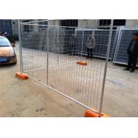 Buy cheap Temporary Chain Link Fence Post Base / Temporary Steel Fencing Industrial Style from wholesalers