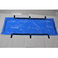 Buy cheap Chlorine Free Blue Woven PE and PP Body Bags 6 Rivets Secured Handles from wholesalers