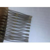 Buy cheap Stainless Steel Wire Rope Ferrule Mesh / 316 animal enclosure fence netting from wholesalers