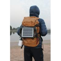 Buy cheap 4W plastic frame solar panel with high lumen LED ,with 5V 1A USB output,charge mobile from wholesalers