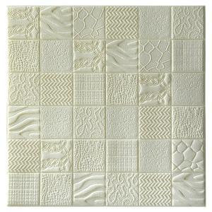 China 3D Brick Self Adhesive Wall Panels , Decorative Diy Wall Panels For Home on sale