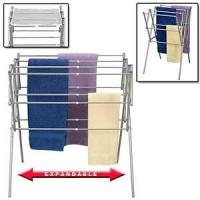 Buy cheap Expandable Drying Rack Folding Metal Clothes Dryer product