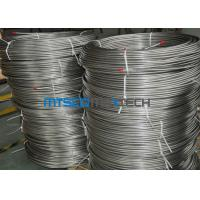 Buy cheap EN10216 - 5 Seamless Coiled Stainless Tube Bright Annealed / Pickled Surface from wholesalers