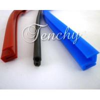 Buy cheap Solid Silicone Rubber Seal Extrusion Profiles For Heat Resistant Weather Stripping from wholesalers