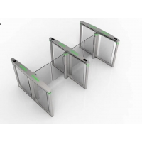 Buy cheap Tempered Glass Wing SS304 Speed Gate Turnstile from wholesalers
