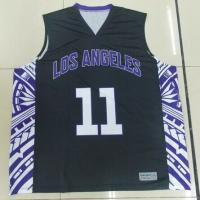 Buy cheap Plus Size Sublimated Basketball Uniforms Sleeveless For Sportsman from wholesalers