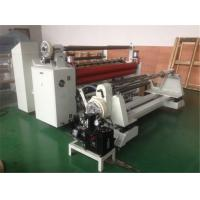 Buy cheap Automatic PVC PET PP Roll Plastic Film Slitter High Precision Slitter Rewinder Machine from wholesalers