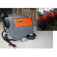 Buy cheap Plastic Handle Battery Powered Floor Sweeper Scrubber , Epoxy Floor Cleaning Machine from wholesalers