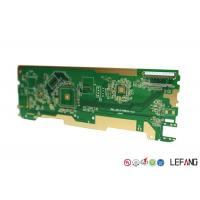 Buy cheap Intelligent Home Control PCB Circuit Board Green Solder Mask ENIG Surface product