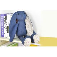 Buy cheap Long ears Rabbit Stuffed Animal denim toys,35CM Custom gifts product