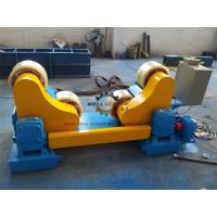 Buy cheap Pipe Vessel Welding Rotator With AC Frequency Converter 20T GZ-20 PU rollers product