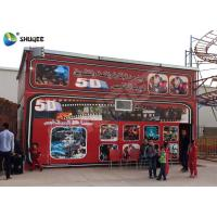 Buy cheap 5D Cinema 5D Movie Theater Including The Outside Cabin Electronic Dynamic System product