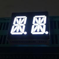 Buy cheap Ultra Bright White 0.54 14 Segment Led Display Dual Digit common anode For Instrument Panel from wholesalers