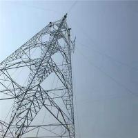 Buy cheap 132kv Steel Pole Tower Electric Transmission Tower For Electrical Line from wholesalers