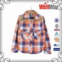 Buy cheap check lady plaid shirt from wholesalers