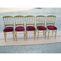 Buy cheap Colored Napoleon Chairs with Pads (WN001) from wholesalers