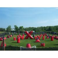 Buy cheap Inflatable Paintball Bunker for paintball Field Equipment from wholesalers