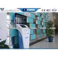 Buy cheap Touch Sensitive Screen Self Serving Kiosk , Self Service Terminal Multi - Card Reader from wholesalers