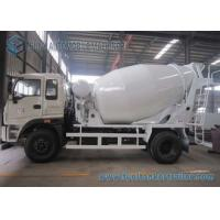 Buy cheap Manual Control 3 Cubic Meter Mixer Trailer Upper Body For 4x2 Chassis from wholesalers