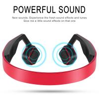 Buy cheap Portable Wireless Outdoor Sports Headphone waterproof bone conduction headphones with microphone from wholesalers