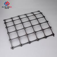 Buy cheap 3.95X50m Polypropylene Geogrid 30X30kn / Biaxial Integral Geogrid For Soil Retainer from wholesalers