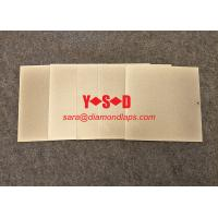 Buy cheap 6 inch by 6 inch Electroplated Diamond Lapping Plate square shape 1mm thickness Grit 240 Single sided product