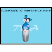 Alloy Aluminum Gas Cylinder 2.67L Compressed Gas Cylinder Safety