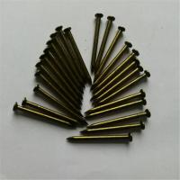 China High Quality Common Iron nail Steel nail Galvanized color Concrete nail shank diameter 1.3mm-5.5mm length 13-160mm on sale