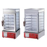 Buy cheap 220V Restaurant Cooking Equipment Full Vision Glass Food Warmer Display Case from wholesalers