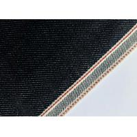 Customize Design Stretch Denim Fabric For Skinny Selvedge Jeans 31mm Width